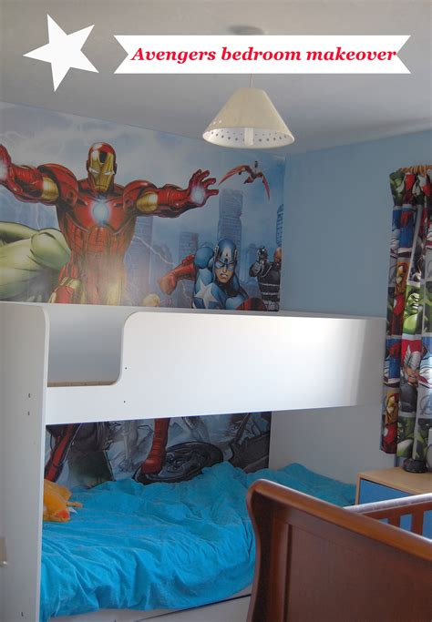 Comic Wall Mural the boys bedroom makeover family fever