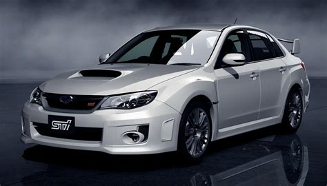subaru sti the new subaru wrx sti sedan will debut in gran turismo 5