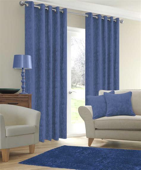 plain blue eyelet curtains stylish ringtop eyelet fully lined curtains plain cotton