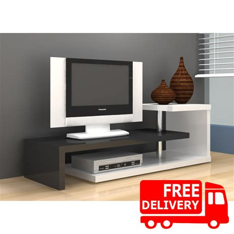 Meja Tv Second anya living scult tv stand meja tv rak tv putih