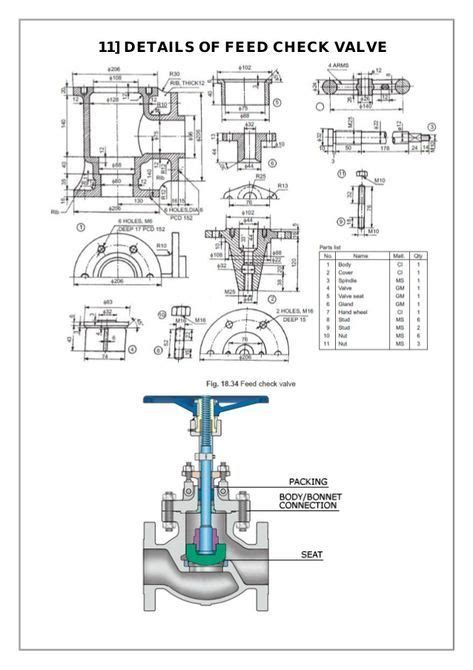 assembly  details machine drawing    mechanical engineering design mechanical