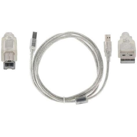 Kabel Usb Yang Panjang kabel printer usb transparan panjang 3m wolusiji