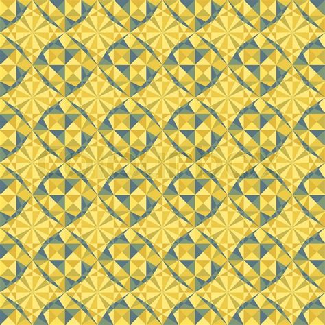 blue yellow pattern vector seamless geometric pattern in yellow and blue