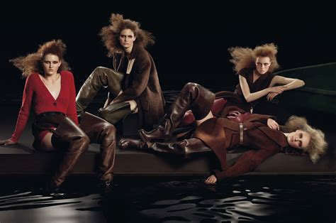 Color Theory Prada Fall 2007 by Prada Fall 2009 Caign By Steven Meisel Complete