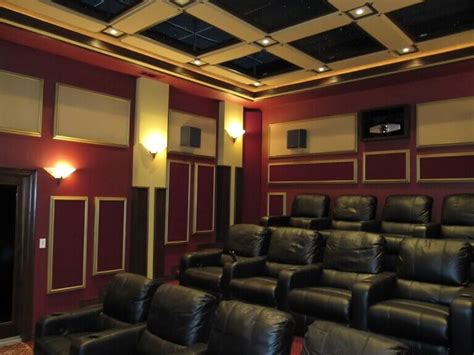 Small Home Theater Acoustic Treatment The Acoustic Treatment Guide For Panels Foam Ln