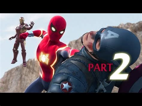 spider man captain america iron man part gp