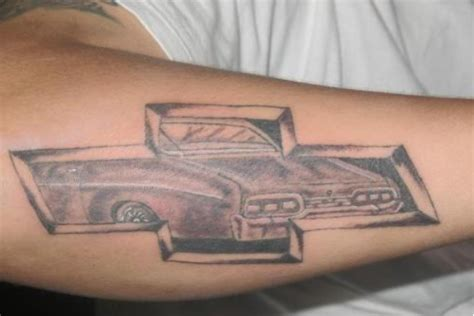 chevy tattoos designs 35 chevy tattoos for proud chevrolet owners pictures