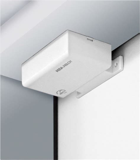 Wireless Alarm Door Sensor by New Aperio Wireless Door Position Sensor Delivers Instant