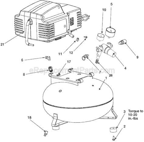 porter cable  hp  pc um stg  compressor