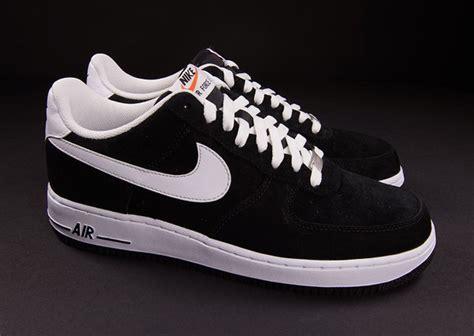 air one low black suede nike air 1 low black suede white sneakernews