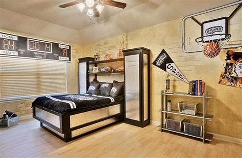 basketball bedroom ideas 20 sporty bedroom ideas with basketball theme home