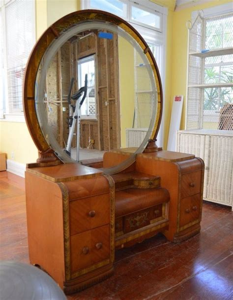 bedroom how to add value on antique bedroom vanities 17 best images about waterfall furniture on pinterest