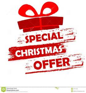 special christmas offer stock illustration image 47514733