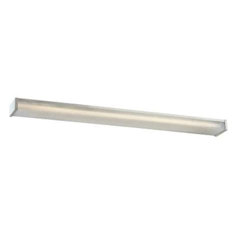 Surface Mounted Fluorescent Light Fixtures Commercial Electric 4 Ft 2 Light Fluorescent Wraparound White Surface Mount Fixture Cew102 06