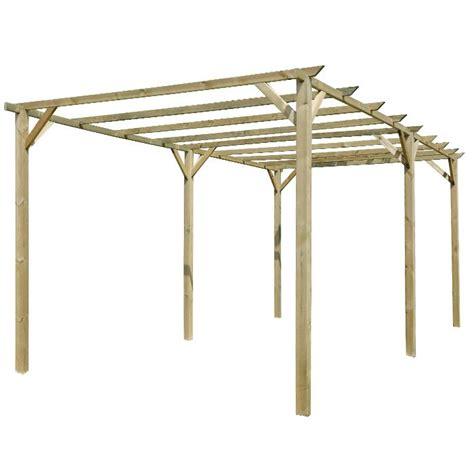 gazebo 3x6 pergolato in legno 3x6 m verdelook biacchi ettore