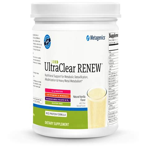 Metagenics Detox by Nutritional Support For Metabolic Detoxification