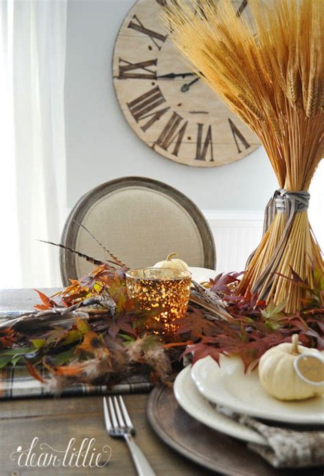 Nice Dining Table Setting Ideas #1: Simple-Thanksgiving-Table-Setting.jpg