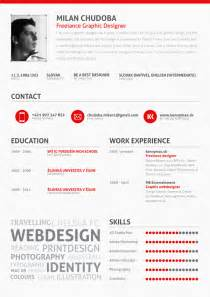 Sle Of Graphic Designer Resume by 25 Exles Of Creative Graphic Design Resumes Inspirationfeed
