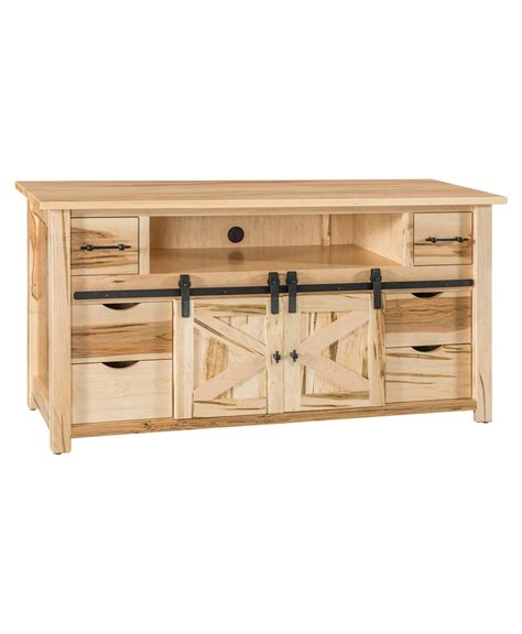 sliding door tv stand teton tv stand with sliding barn wood door amish direct