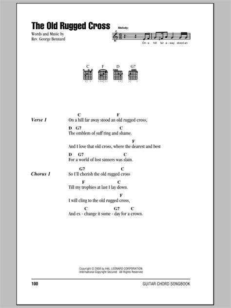 lyrics for the rugged cross guitar chords lyrics easter search results sheet direct