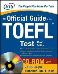 Official Guide To The Itp Test official guide to the toefl test 3 edition