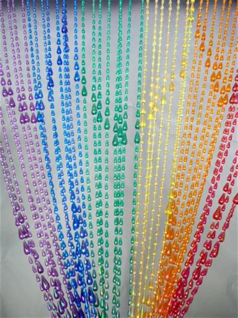 rainbow beaded curtain rainbow raindrop beaded curtain that bohemian girl