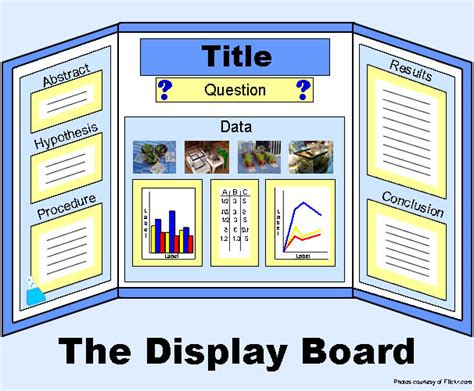Search Results For Science Fair Display Board Exles Display Board Template
