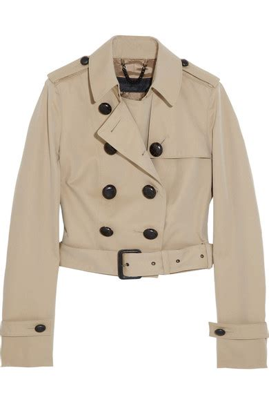 Cropped Trench Coats by Cropped Trench Coat Wardrobe Mag