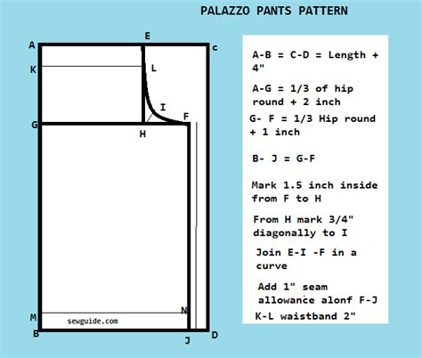 plazo cutting step by step how to make palazzo pants free diy pattern sew guide