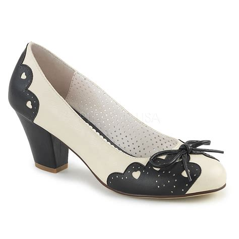 couture shoes pleaser pinup couture wiggle 17 black court shoes