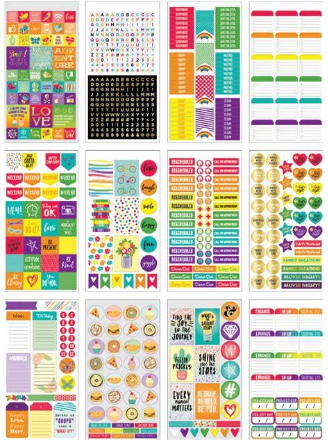 American Planner Stickers rainbow planner sticker book american crafts
