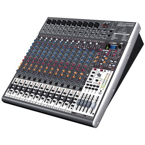 table de mixage usb behringer behringer xenyx x2442usb 171 mixer