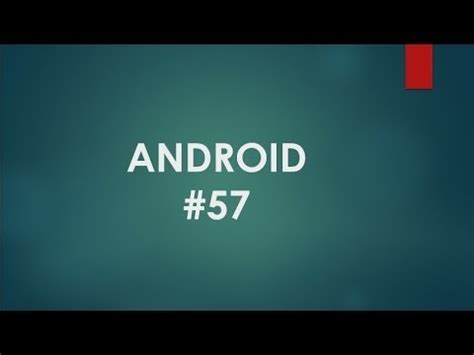 android tutorial for beginners android tutorial for beginners 57 android bar