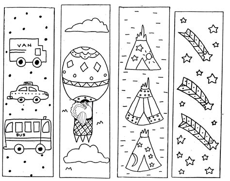 bookmarks to color bookmarks to color loving printable