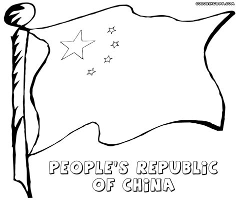chinese flag coloring pages coloring pages to download