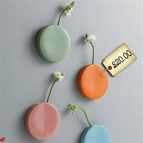 Dot Wall Vase by Spotted The Dot Wall Vase Swoon Littlestuff