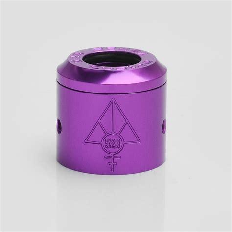 Goon Rda 24 Sleeve Authentic authentic 528 customs 24mm goon rda purple gloss top cap sleeve