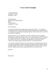 27 executive cover letter for business internship for