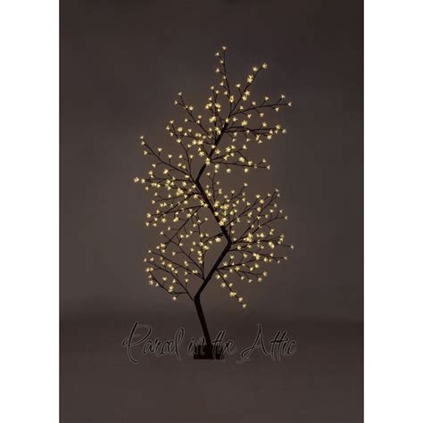 7ft tree with lights 7ft outdoor led zig zag cherry blossom tree warm white led