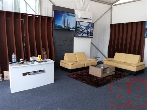Tenda Booth jasa booth terbaik surabaya tenda dome capital square di hr muhhamad surabaya info 08165441454
