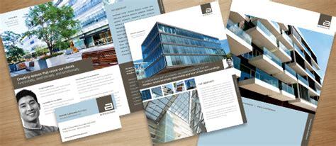 ad architectural design architect marketing brochure flyer ad designs