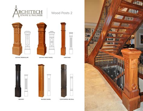 wood l post designs wooden staircase railing designs in kerala joy studio