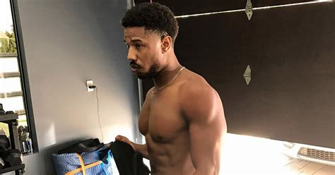 lifestyle m bel how michael b got in shape for black panther