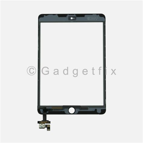 Flexsible Touchscreen Mini Ic Ori touch glass digitizer screen ic flex connector solder assembly for mini