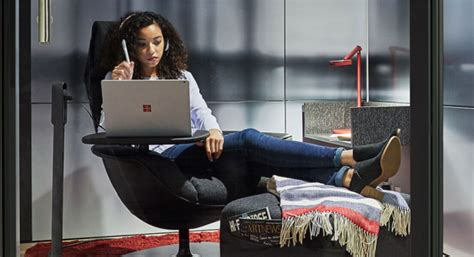 respite room microsoft partners with steelcase to bring offices into the future sitepronews