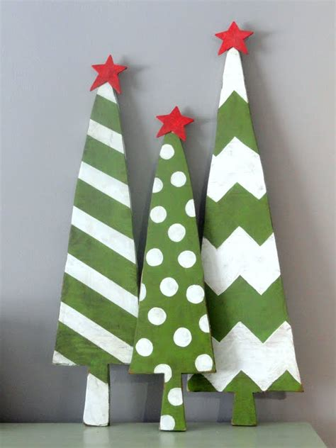 kayboo creations wooden christmas trees