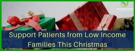 support patients from low income families this christmas