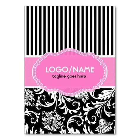 Black And Pink Business Card Template by 22 Best Business Cards Ideas Pink And Black Images On