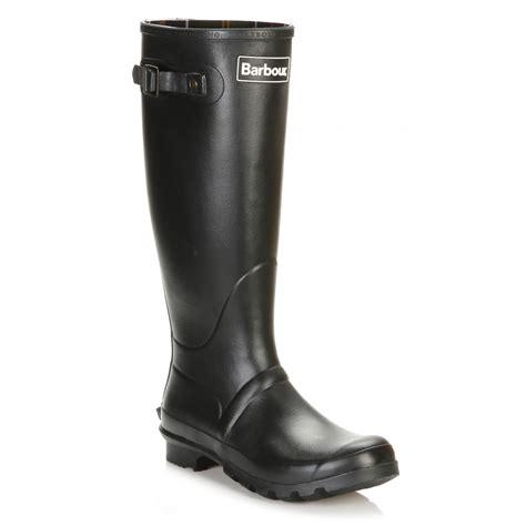 barbour mens black bede wellington boots mrf0010bk31