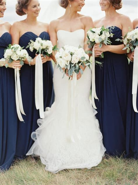Maxi Vera Navy navy blue bridesmaid dresses for a summer wedding blue